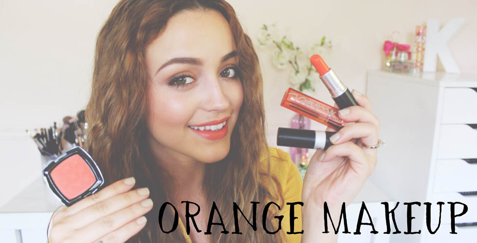 My Favorite Orange Eyeshadows, Blushes & Lip Products!