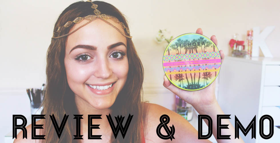 REVIEW/ DEMO -NEW Sephora Sol De Rio Bronzer!