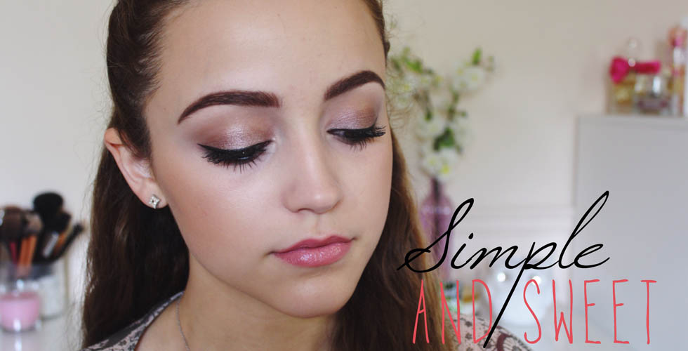 Simple Full Face Drugstore Makeup Tutorial